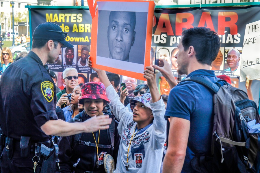 Walk Out Protest_Children_Police_Angelica Ekeke-1